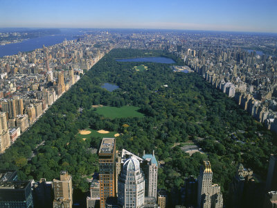 New York, vista su Central Park